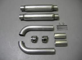 Belanger Side Pipe Kit and GTS Conversion Dodge Viper RT-10 92-95 - BEL-VPR-9202-SDP
