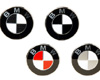 BMW E36 Emblems Colored BMW Roundel Overlays