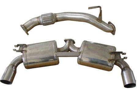 Berk Technology Dual Exhaust Toyota MR2 Turbo 90-99 - BT1068