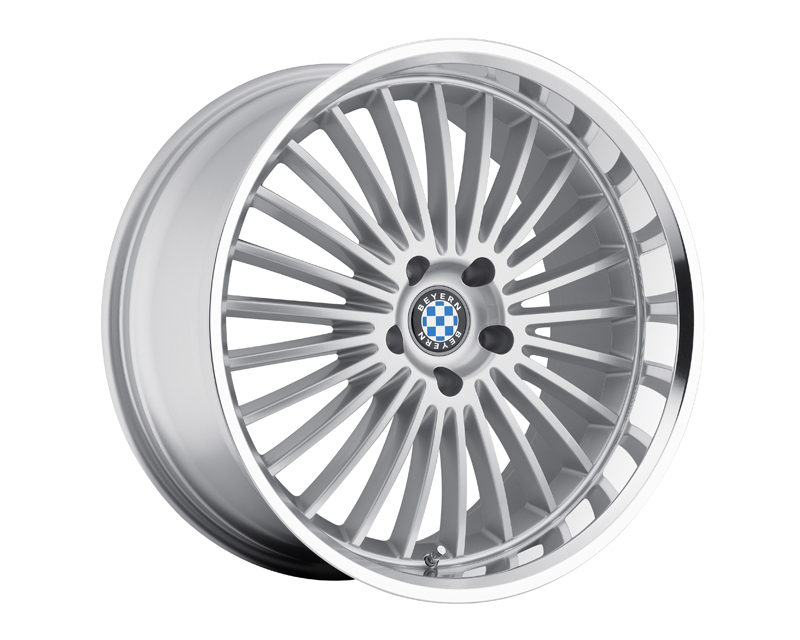 Beyern Multi 19X9.5 5x120 15mm Silver Machined - BE-1995BYT155120S72
