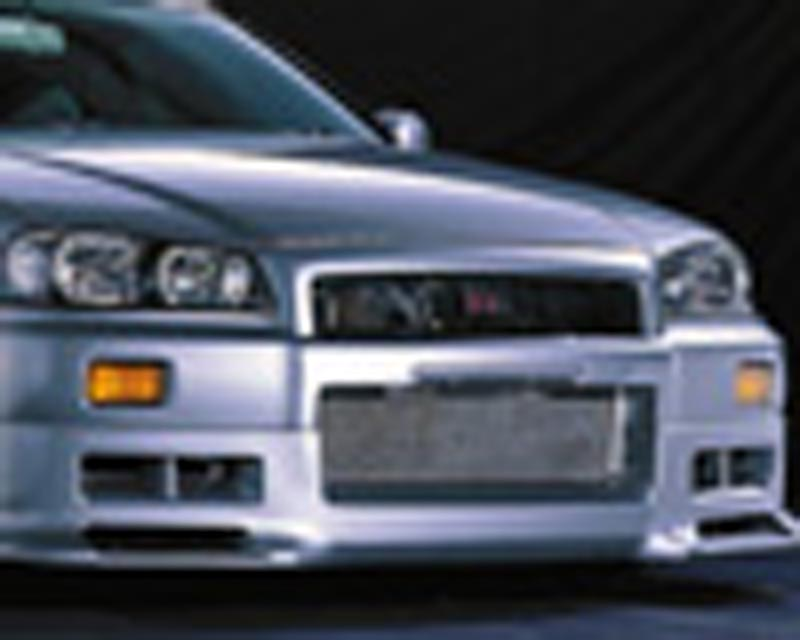Blitz Aerospeed Side Skirt Set Tupe-2 Nissan Skyline R34 99-02