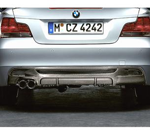 BMW Performance Carbon Fiber Rear Diffuser BMW 1 Series 08-11 - 51120414220