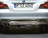 BMW Performance Carbon Fiber Rear Diffuser BMW 1 Series 08-11