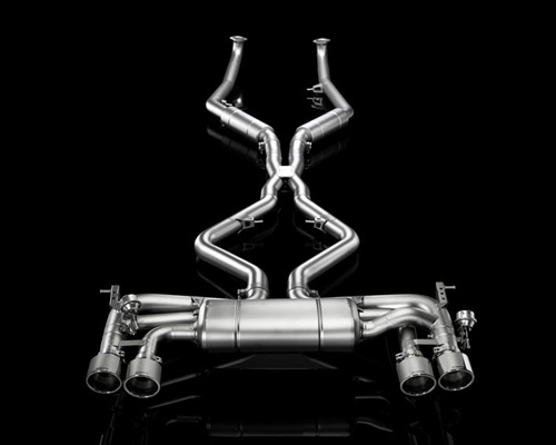 Akrapovic Evolution Line Titanium Exhaust System BMW X5M F85 15-16