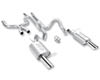 Borla ATAK Stainless Steel Catback Exhaust Ford Mustang GT 5.0L 11-12