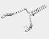 Borla ATAK Stainless Steel Catback Exhaust Ford Mustang GT 4.6L 05-09