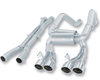 Borla Aggressive Catback Exhaust Chevy Corvette Z06 | ZR1 06-11
