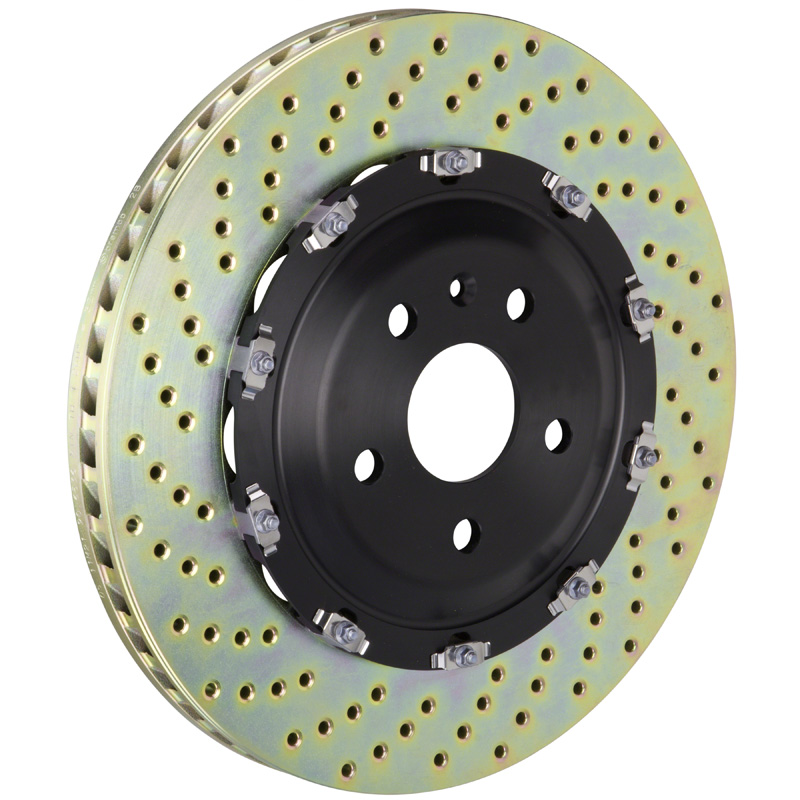 Brembo 365x34 2-Piece Drilled Front Rotors - 101.9007A