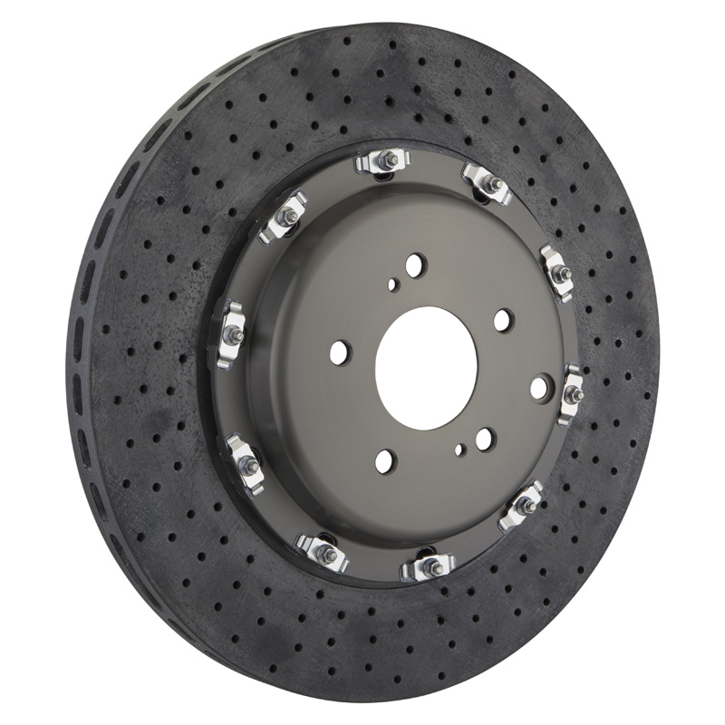 Brembo 2-Piece 380x34 CCM-R Drilled Front Rotors - 109.9025A