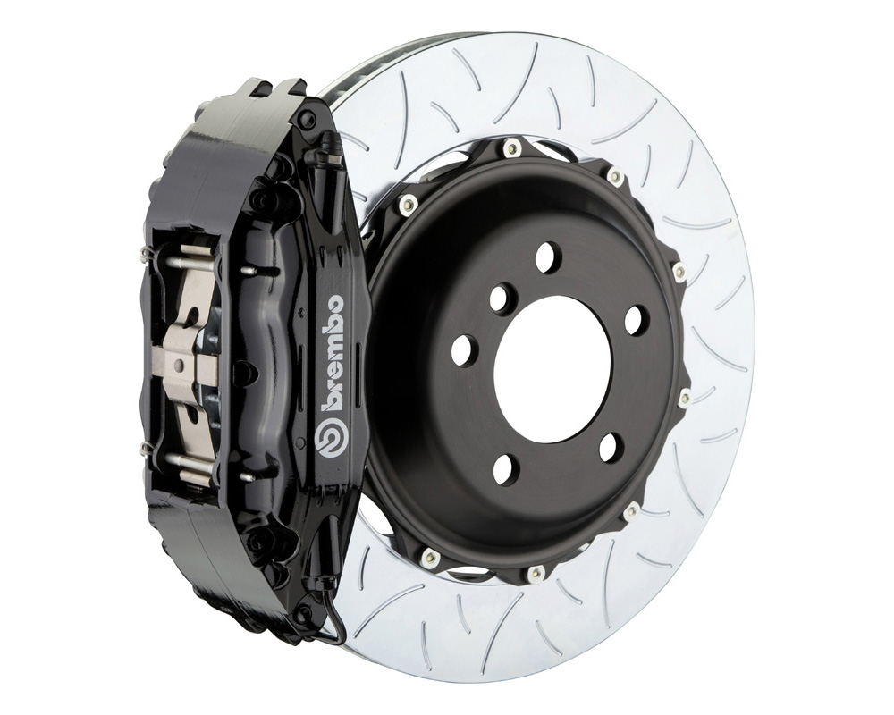 Brembo GT 355x32 2-Piece 4 Piston Black Slotted Type-3 Rear Big Brake Kit - 2H3.8006A1