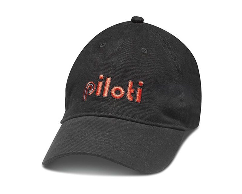 Piloti Macchina Black Adjustable Cap