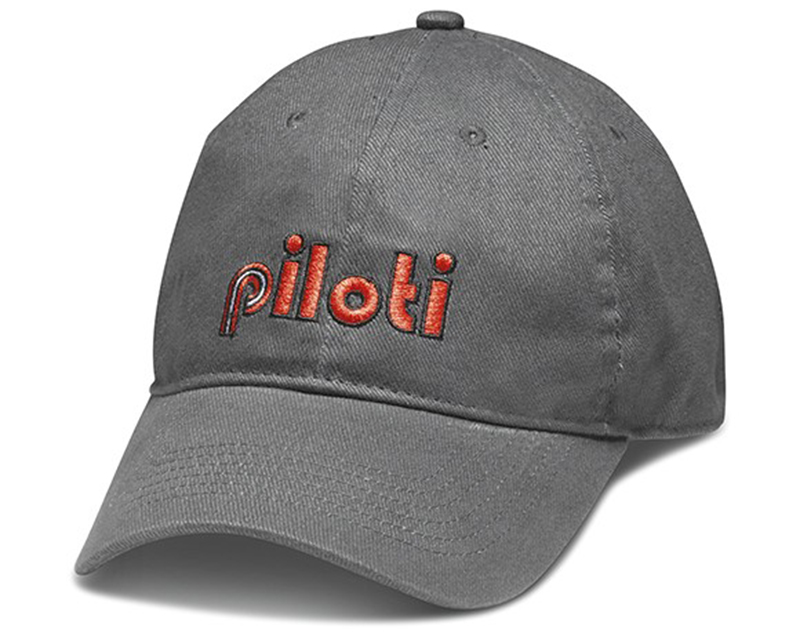 Piloti Macchina Charcoal Adjustable Cap