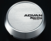 Advan 63mm Center Cap 100/112 PCD Middle Type Silver