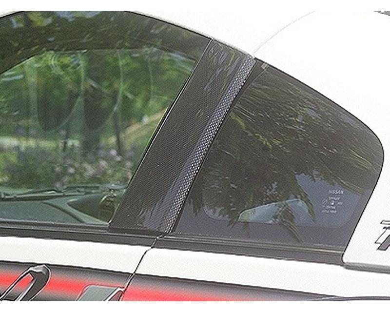 ChargeSpeed Carbon Center Pillar Cover Nissan 350Z Z33 03-08 - CS722DPC