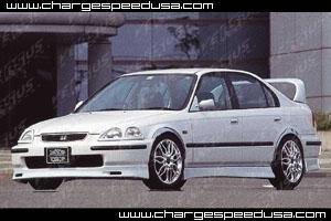 ChargeSpeed Full Lip Kit Honda Civic EK 4dr Zenki 96-98 - CS617FLK