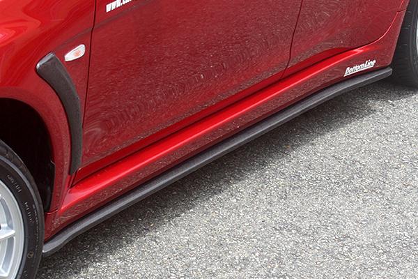 ChargeSpeed Bottom Line Type 1 FRP Side Skirts Mitsubishi EVO X 08-12 - CS427SS1F
