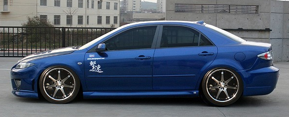 ChargeSpeed Side Skirts Mazda 6 03-08 - CS595SS