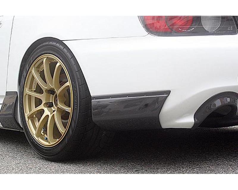 ChargeSpeed Carbon Rear Bumper Cowl Honda S2000 AP2 05-08 - CS331RBCC