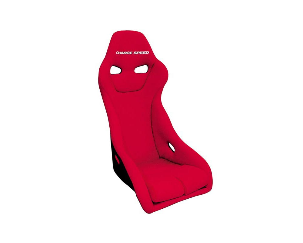 Charge Speed Racing Seat Genoa S Type Kevlar Red (Japanese Kevlar) - BC-GSK02