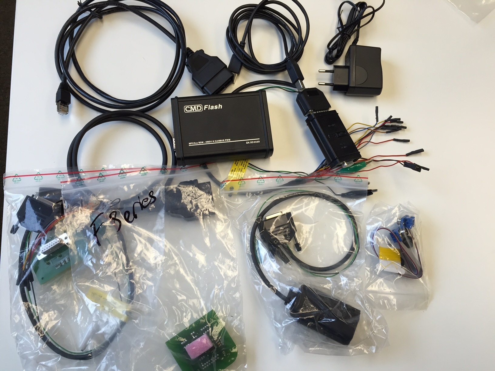 CMD Slave Pro Dealer ECU Tuning Start Up Kit OBDII & Bench Flash