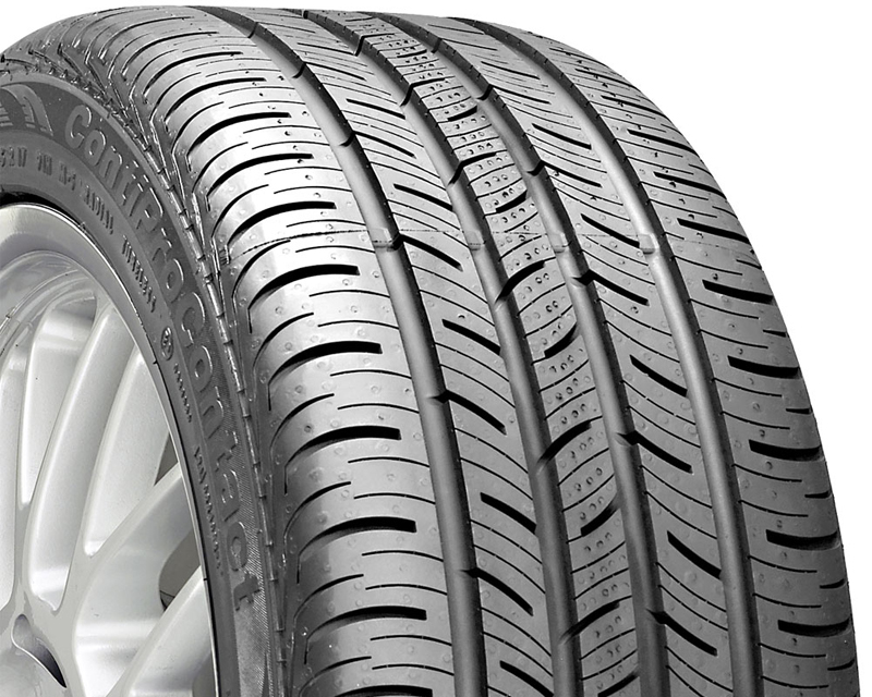 Continental Pro Contact Tires 225/45/17 91H BSW