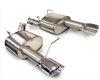 Corsa Axle Back Sport Exhaust Ford Mustang GT 11-13