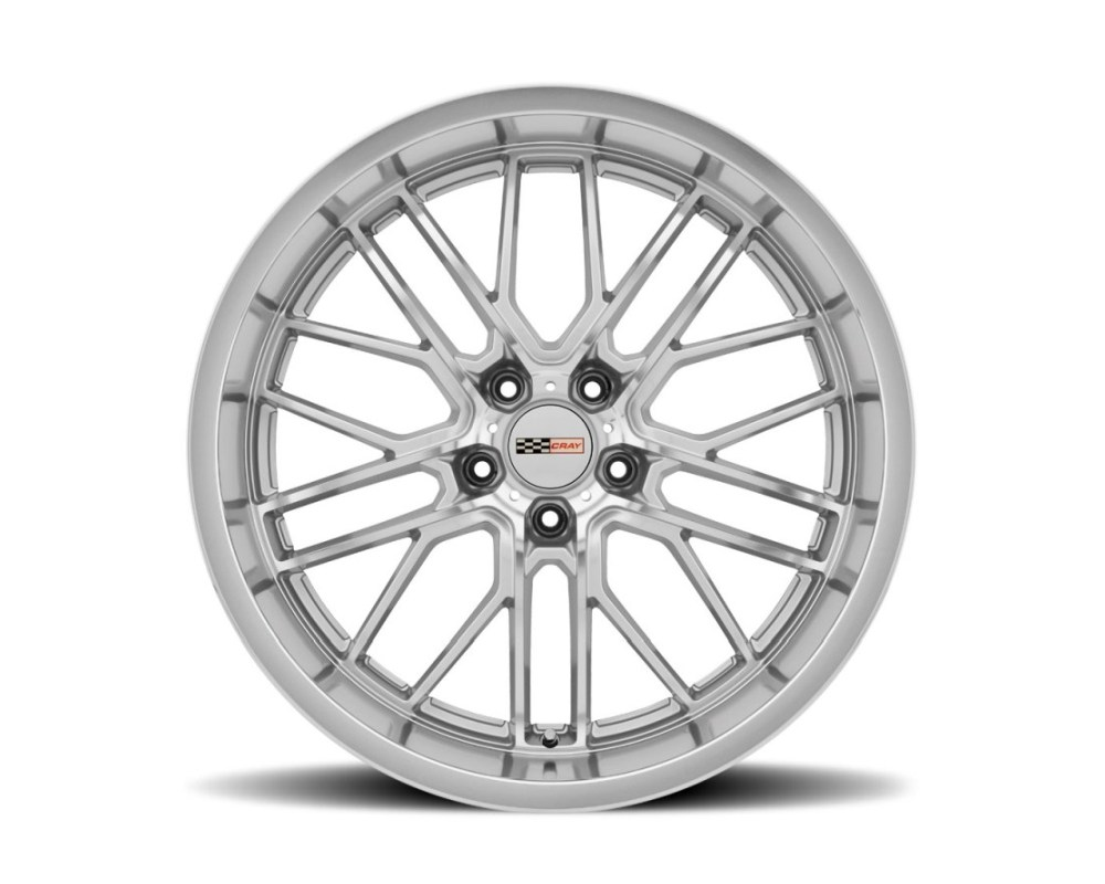 Cray Eagle Wheel 20x10.5 5x120.65|5x4.75 69mm Silver w/ Mirror Cut Face & Lip - 2005CRE695121S70