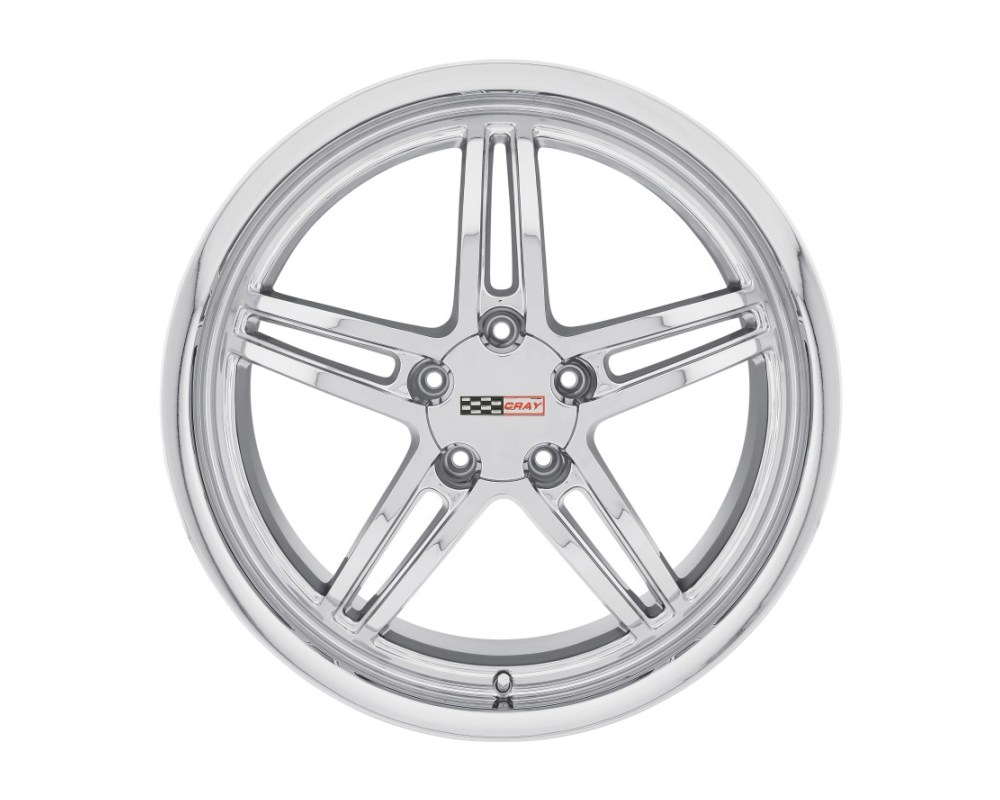 Cray Scorpion Chrome Wheel 19x10.5 5x120.65|5x4.75 65mm CB70.3 - 1905CRS655121C70
