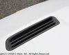 C-West Carbon Hood Air Outlet Mitsubishi EVO X 08-14