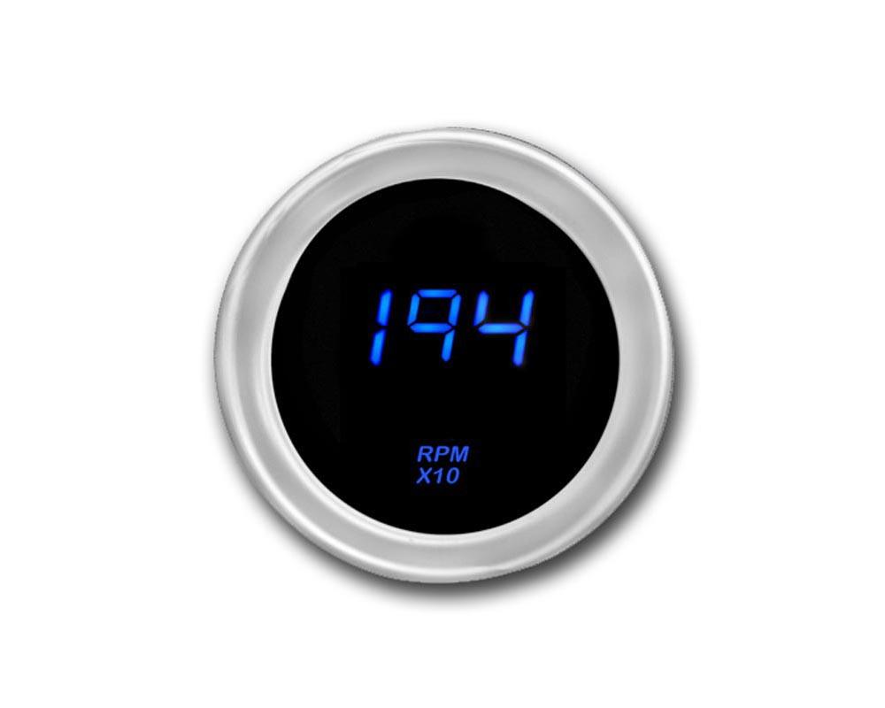 Cyberdyne Blue Ice Mini Tachometer 6 Cylinder - A053E351N