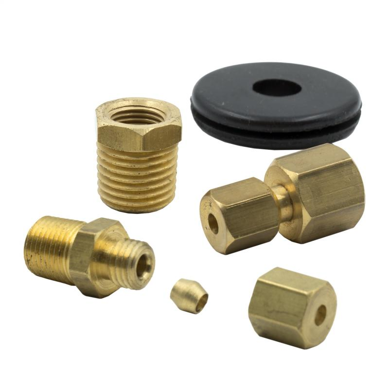 AutoMeter 1/8in. NPT COMPRESSION FITTING KIT