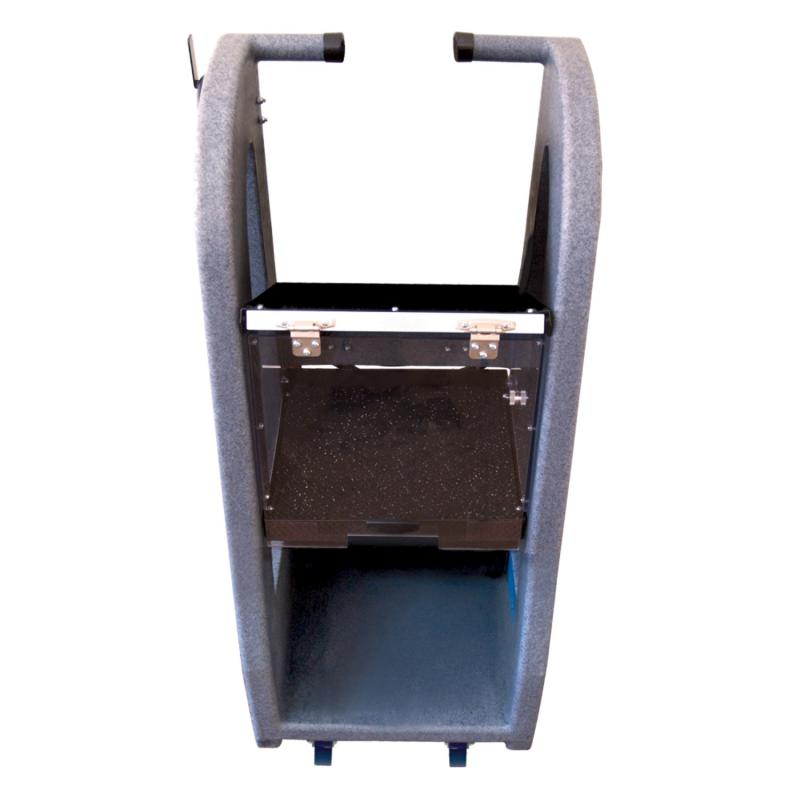 AutoMeter EQUIPMENT STAND; HD; FRONT CASTERS