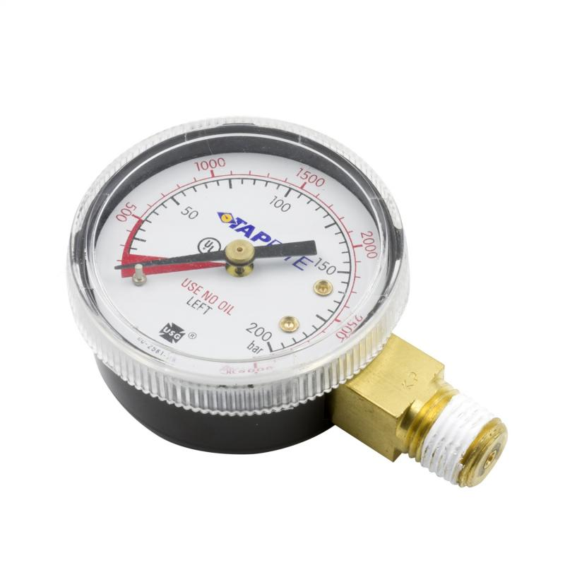 AutoMeter GAUGE HIGH PRESSURE FOR CO2 REGULATOR (0 TO 3000 PSI)