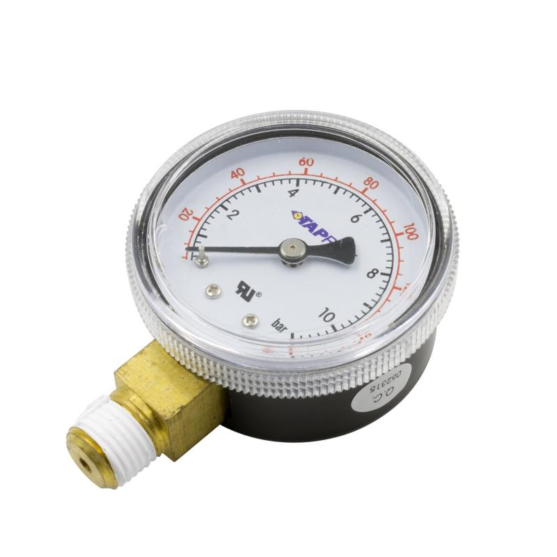 AutoMeter GAUGE LOW PRESSURE FOR CO2 REGULATOR (0 TO 160 PSI)