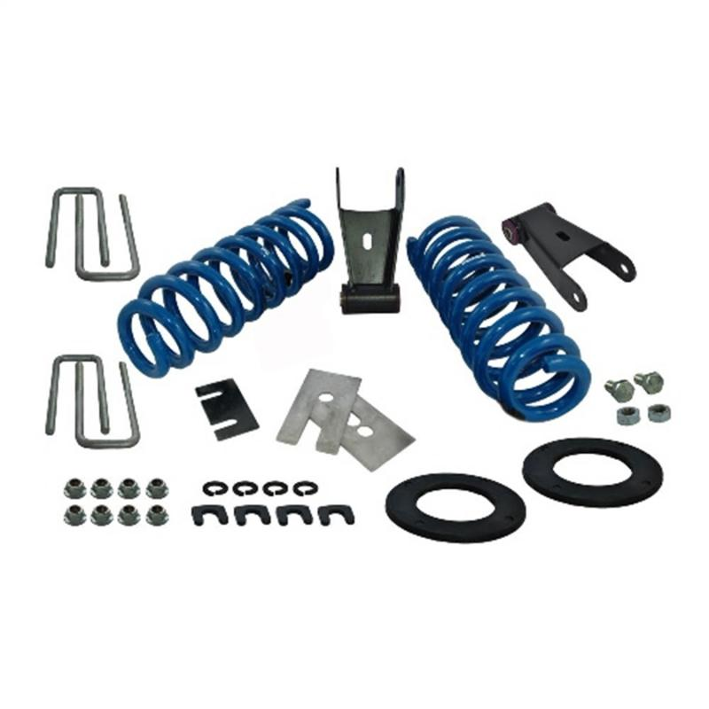 Ford Racing 2015-17 F-150 LOWERING KIT-LESS JOUNCE BUMPERS Ford F-150 Front and Rear 2015-2017 - M-3000-H4