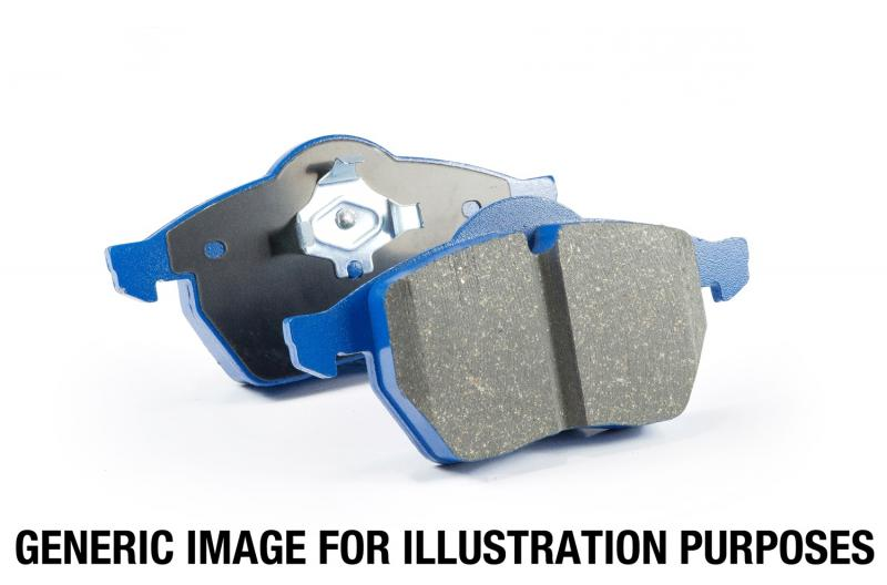 EBC Brakes EBC Bluestuff NDX Full Race Brake Pads; Porsche Rear 3.8L 6-Cyl