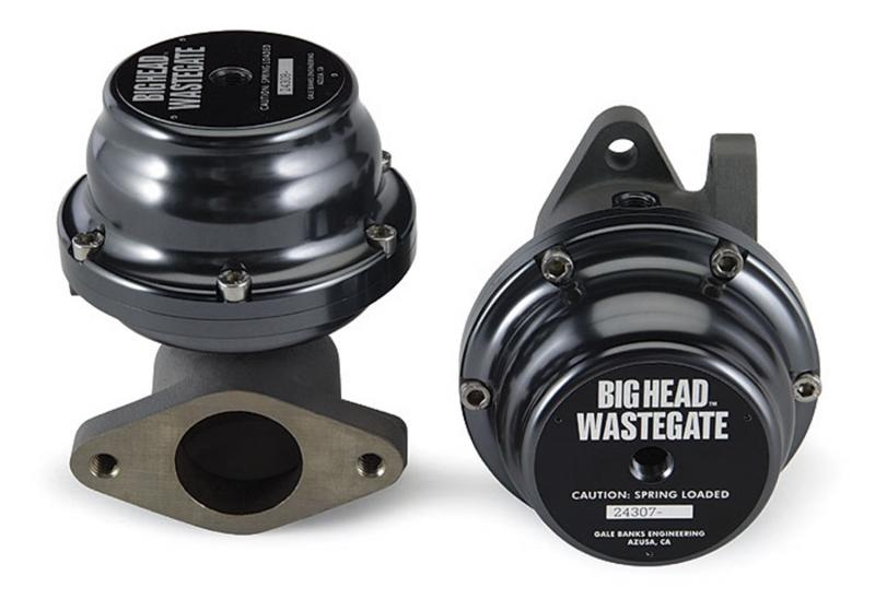 Banks Power Wastegate Kit; 12 Psi; V-Band-Twin Turbo System