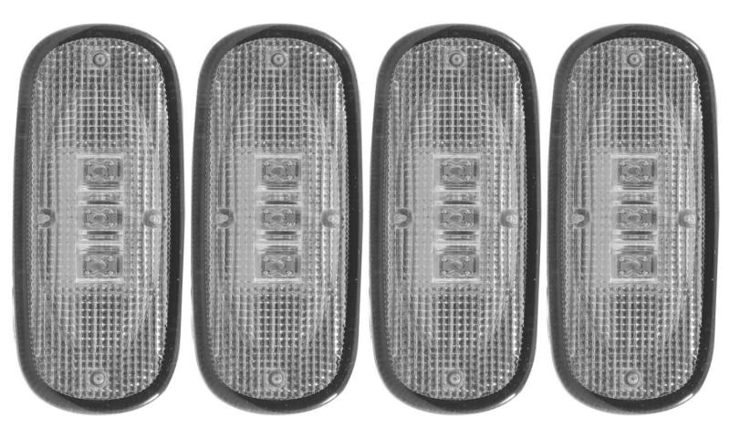 Anzo USA LED Fender Lights Dodge Ram 3500 Rear 2007
