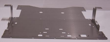 Downforce NSX-R Aluminum Battery Undertray Acura NSX 91-05 - DF-AAA112