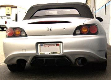 Downforce Sport Rear Bumper Honda S2000 00-08 - DF-AHA305
