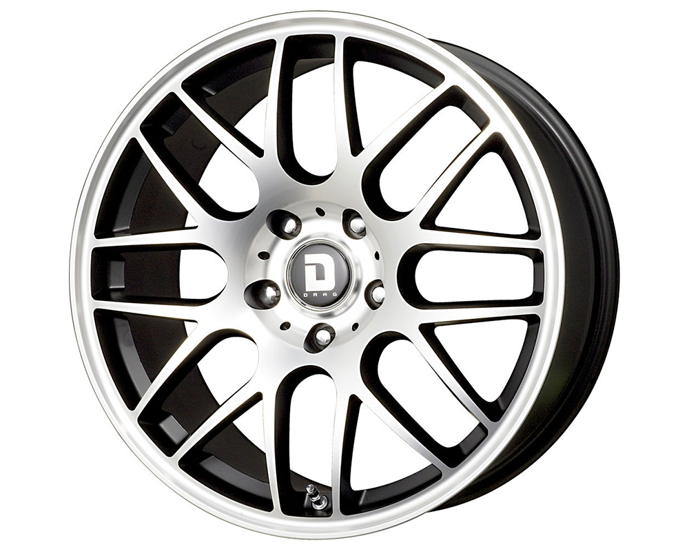 Drag DR-37 17X7.5  5x120  42mm Flat Black Machined Face - DT-61435