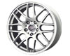 Drag DR-37 18X8  5x120  40mm Silver Machined Lip