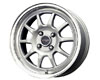 Drag DR-16 15X7  4x100  40mm Silver Machined Lip