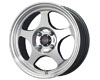 Drag DR-23 15X6.5  4x100  40mm Gunmetal Machined Face