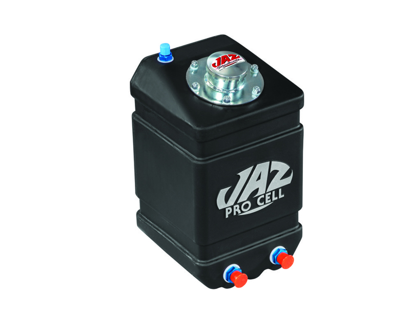 "JAZ 1 gal Drag Vertical Fuel Cell 14""x10""x9"" with -8AN Outlet - 250-001-NF"