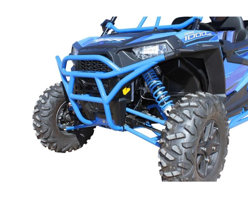 DragonFire RacePace Front Bumper Blue Polaris RZR 1000 S 16-18 - 01-1114