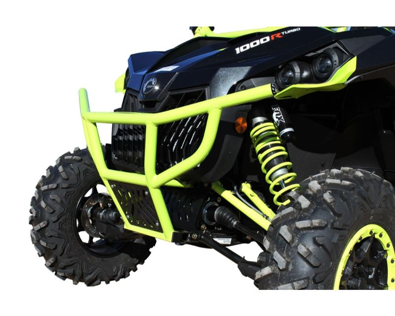 DragonFire RacePace Front Bumper Black Can-Am Maverick 13-17 - 01-2100