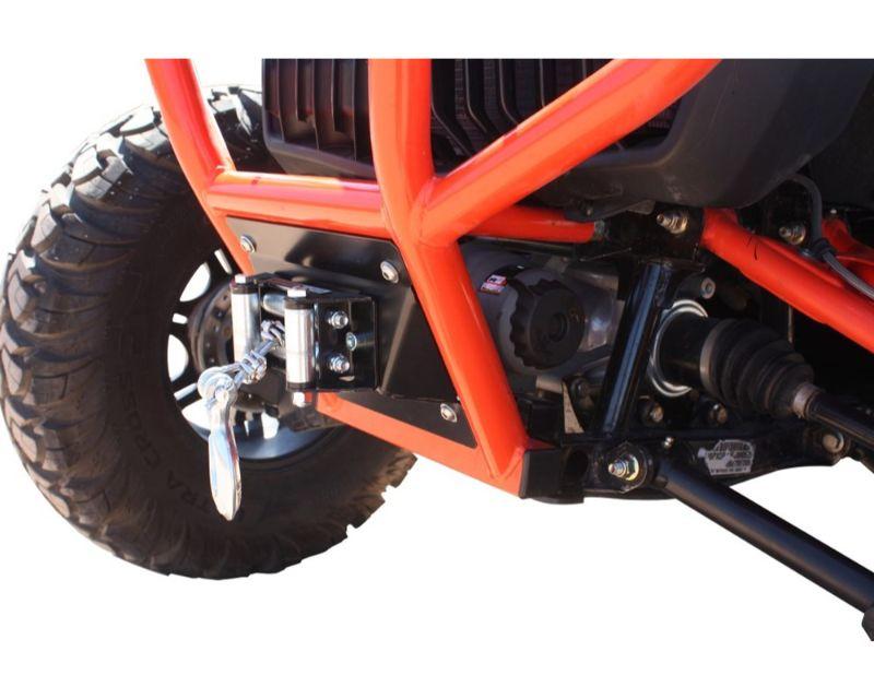 DragonFire RacePace Front Bumper Winch Mount Kits 3inch Spool Can-Am Maverick 13-17 - 01-2112