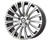 Drag DR-43 18X8.5  5x114.3  40mm Gunmetal Machined Face