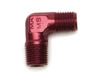 Edelbrock 1/8 in NPT Male Red 90 Degree Pipe Nipple